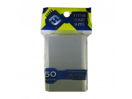 FFG FFS01 Mini American Board Game Sleeves Yellow Fr 1