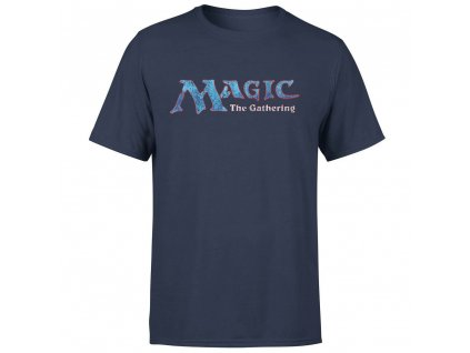 magic the gathering 93 vintage logo navy t shirt large