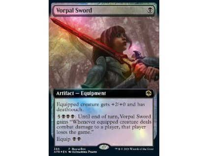 Vorpal Sword - BUY A BOX PROMO FOIL