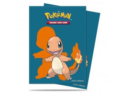 Obaly na karty Pokémon — Charmander (65 kusů)