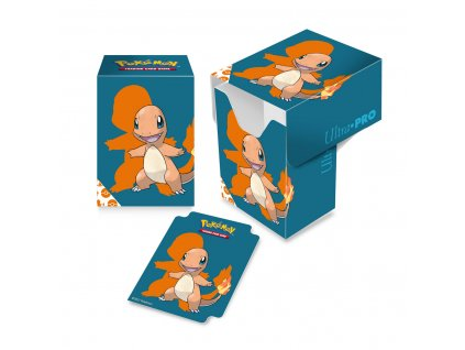 Krabička na karty Pokémon — Charmander