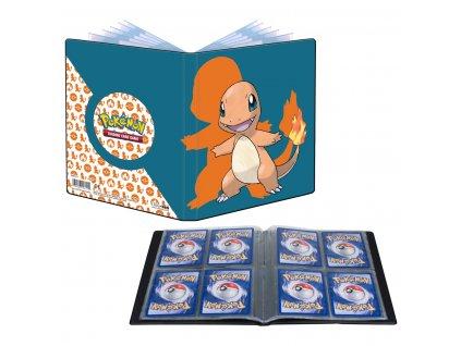 Album na karty Pokémon 4 Pocket — Charmander