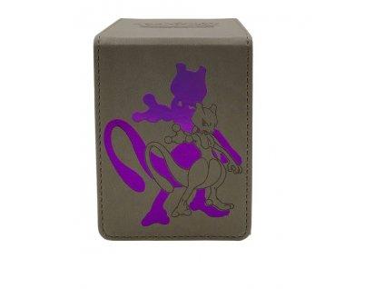 Pokémon krabička na karty Alcove Flip Box — Mewtwo