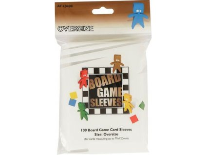 Board Game Sleeves — Oversize 100 obalů (79x120mm)