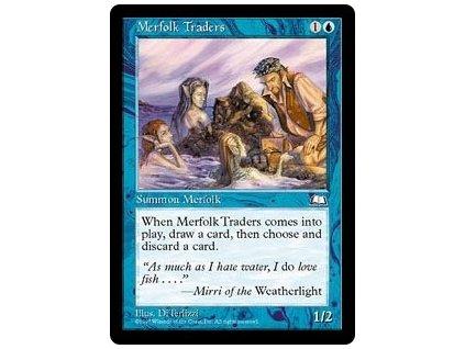 Merfolk Traders (Foil NE, Stav Near Mint)