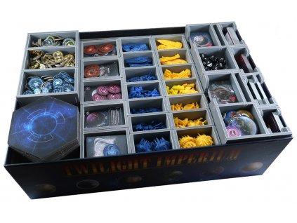 Insert na herní komponenty — Twilight Imperium 4th Edition