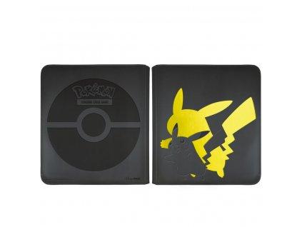 Prémiové sběratelské album Pro-Binder na zip  12 pocket - Pikachu