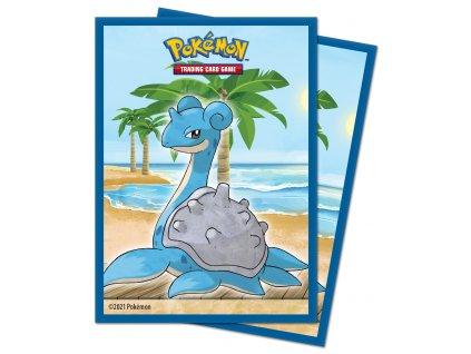 Obaly na karty Pokémon — Gallery Series Seaside (65 kusů)