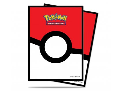 Obaly na karty Pokémon — Poké Ball (65 kusů)