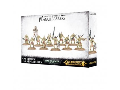 Age of Sigmar — Chaos Daemons Plaguebearers of Nurgle