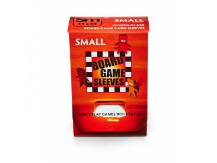 Board Game Sleeves — Small (44x68mm) - 50 obalů