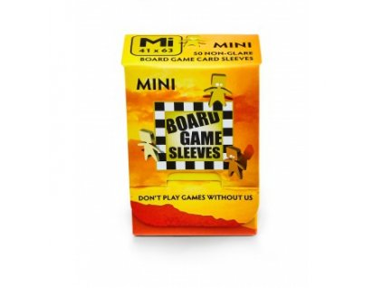 Board Games Sleeves — Mini (41x63mm) - 50 obalů