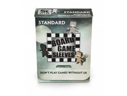 Board Game Sleeves — Standard (63x88mm) — 50 obalů