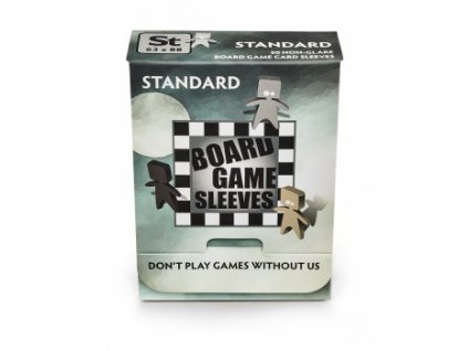 Board Games Sleeves — Standard (63x88mm) - 50 obalů