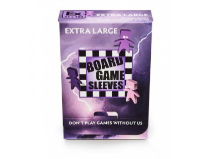 Board Game Sleeves — Extra Large (65x100mm) — 50 obalů
