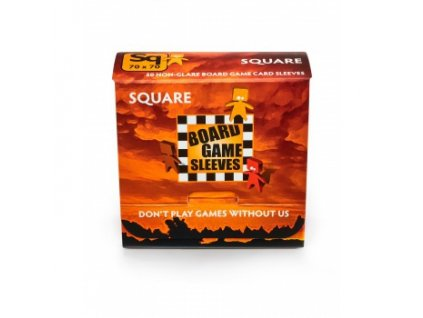Board Games Sleeves — Square (69x69mm) - 50 obalů