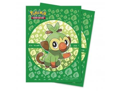 Obaly na karty Pokémon — Grookey (65 kusů)