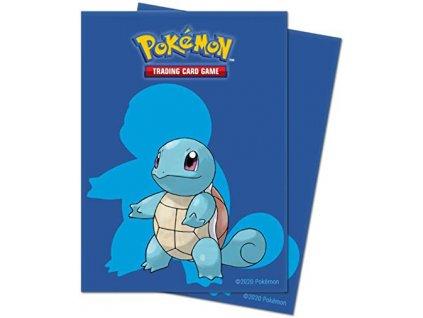 Obaly na karty Pokémon — Squirtle (65 kusů)