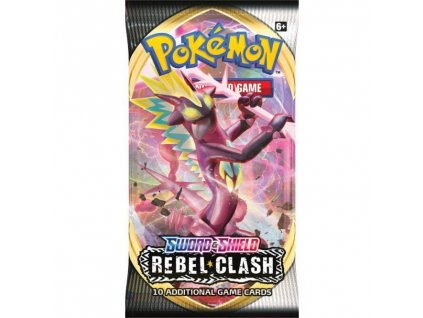 Pokémon Sword and Shield — Rebel Clash Booster
