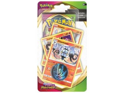 Pokémon — Vivid Voltage Premium Checklane Blister — Chandelure