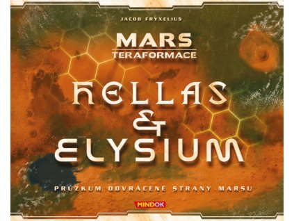 Mars: Teraformace Hellas a Elysium