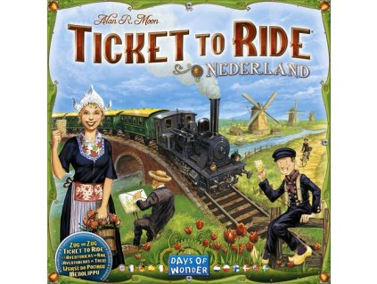 Ticket to Ride - Map Collection - Nederland
