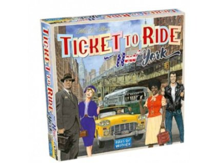 Ticket to Ride Express - New York City 1960 - EN