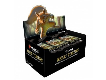 Booster Box: Relic tokens — Relentless Collection