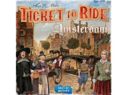 Ticket to Ride - Amsterdam (EN)