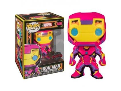 Marvel Black Light Iron Man (#649)