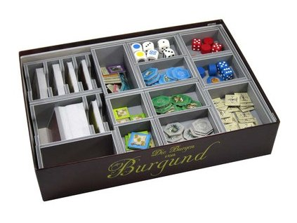 Insert na herní komponenty — Castles of Burgundy