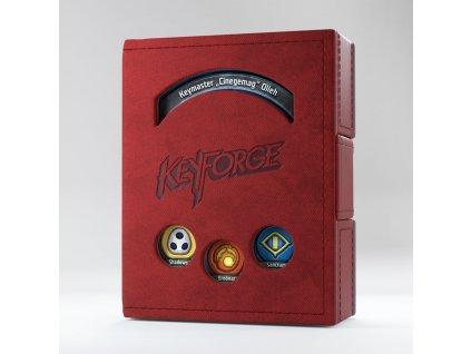 KeyForge Deck Book - Red