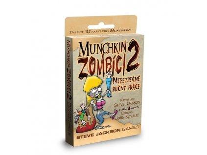 Munchkin - Zombíci - rozšíření 2. - Nebezpečné ruční práce
