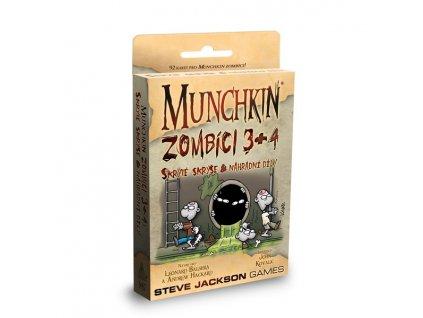 Munchkin - Zombíci - rozšíření 3. + 4. - Skryté skrýše a náhradní díly