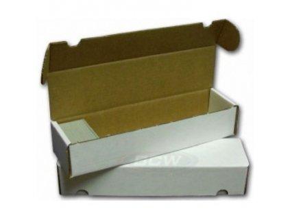 Papírová krabice na 1000 karet