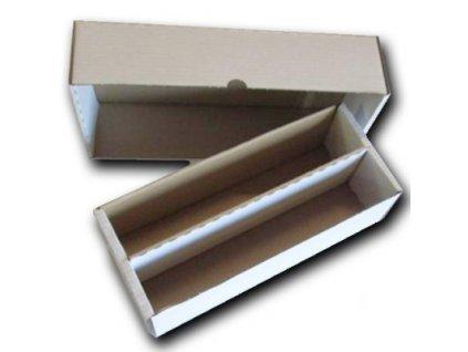 Papírová krabice na 2000 karet