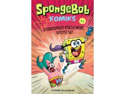 7385 spongebob komiks 2 dobrodruzi vsech mori spojte se