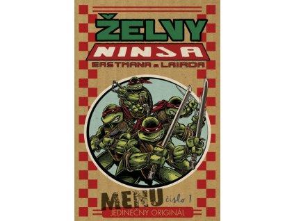 7880 zelvy ninja menu cislo 01 jedinecny original