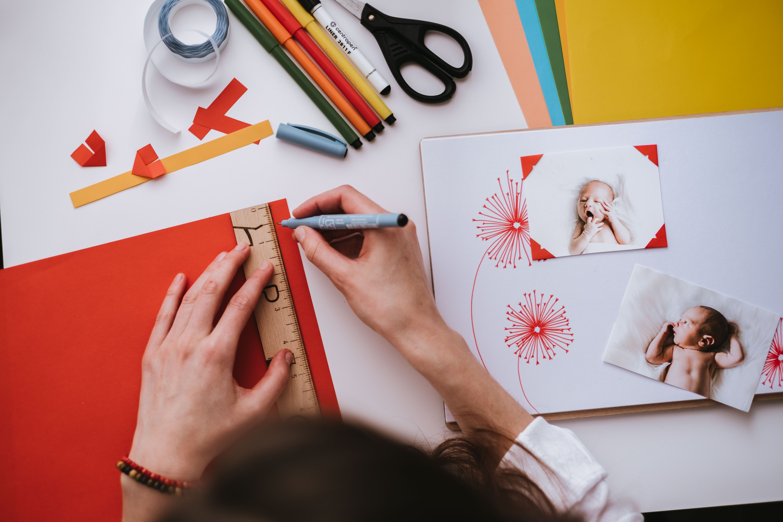 #4 Výroba fotorůžků + efektivní použití lepítek