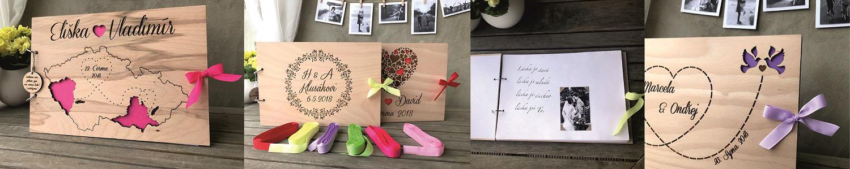 Svatební knihy black m design