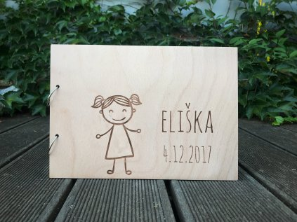 Fotoalbum Holčička