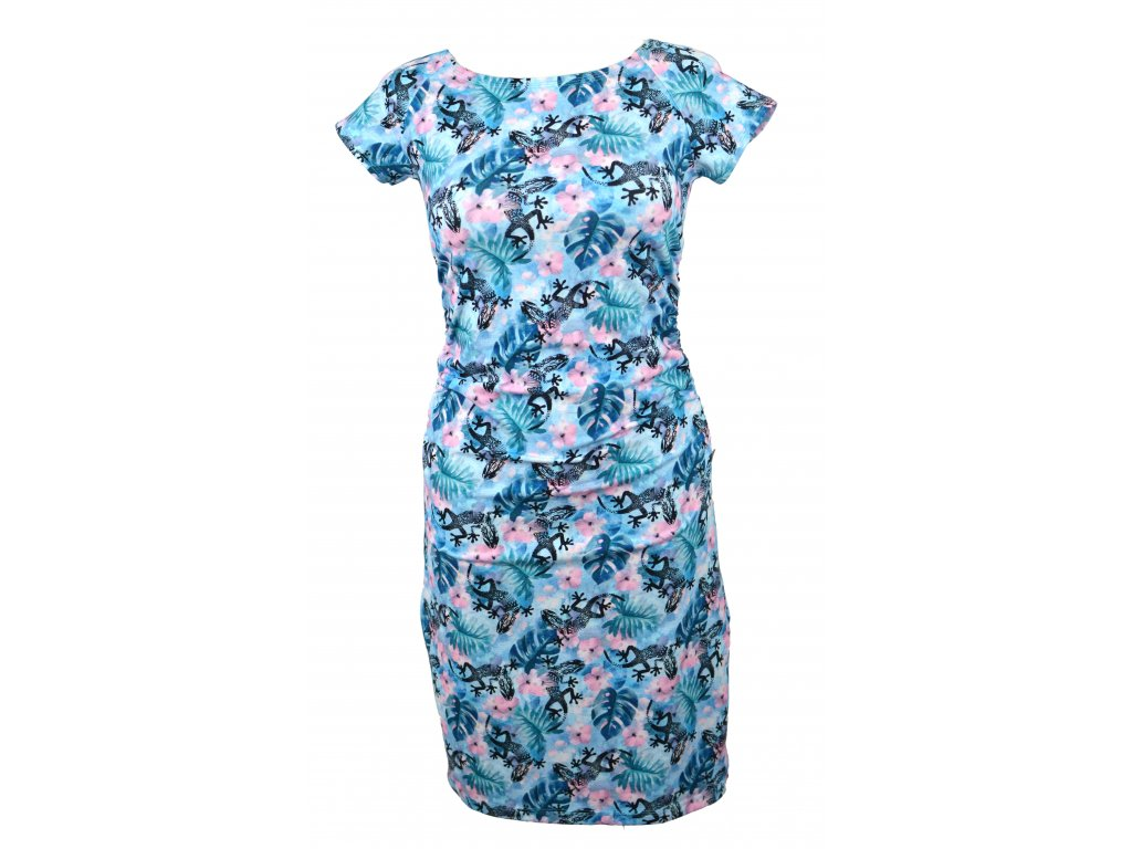 Šaty řasené