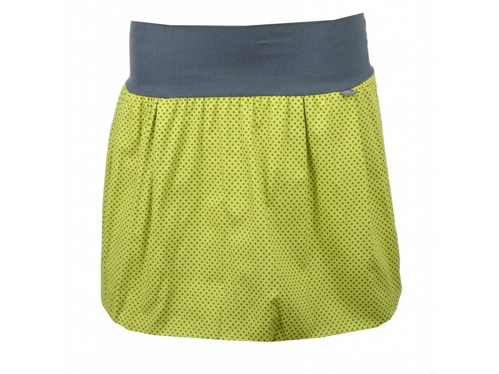 Zelená s šedými puntíčky (bambusová podšívka) (Varianta 20950x1033495198)