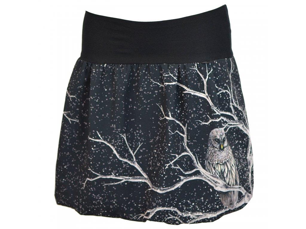 17297 balonova sukne nocni sova polyester