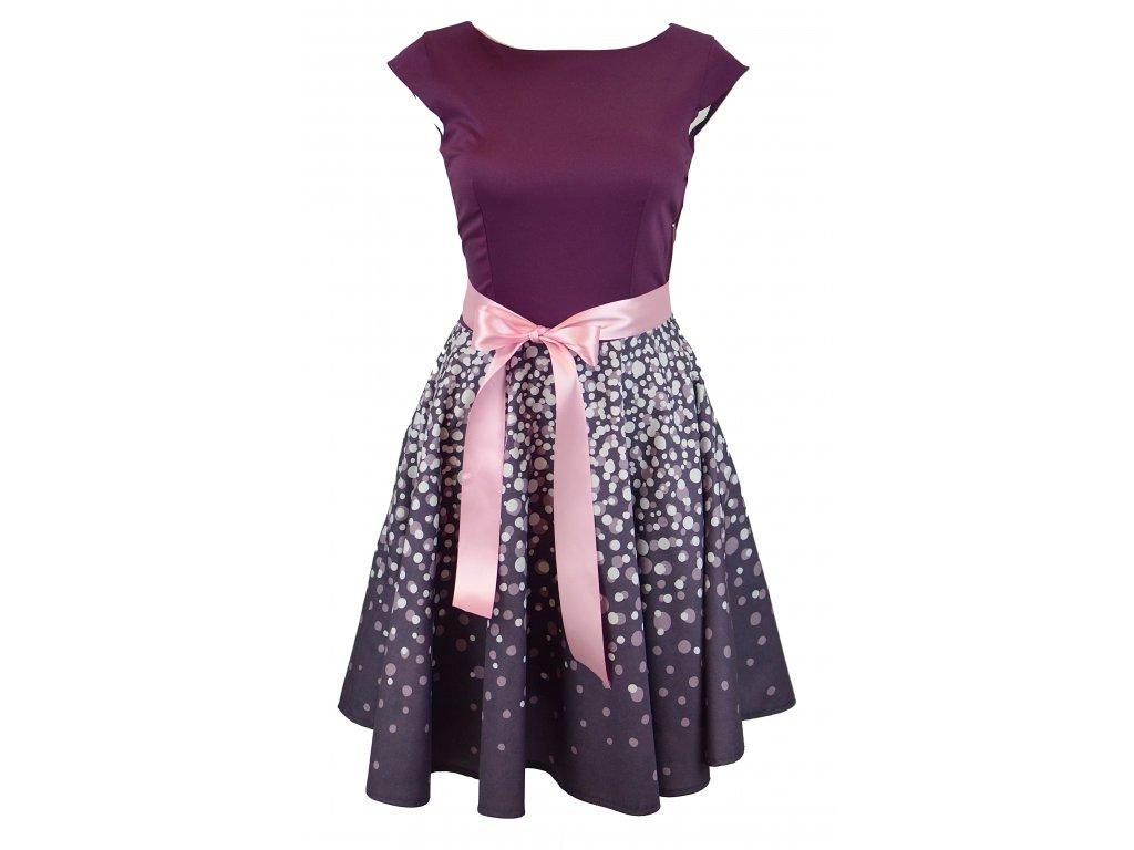 dámské kolové šaty