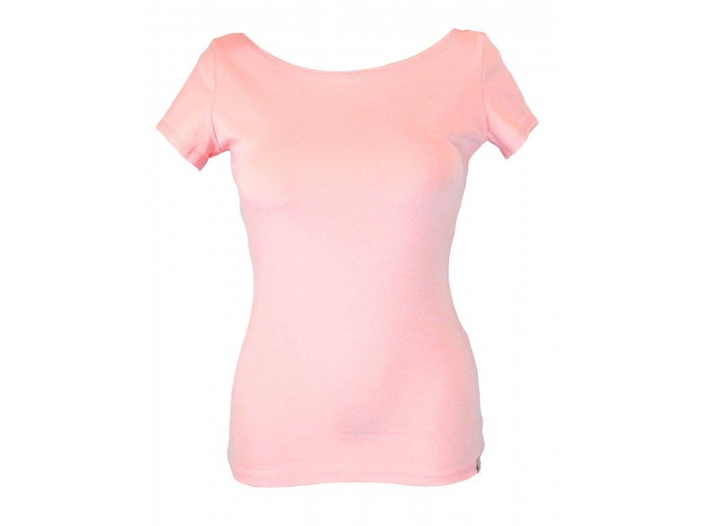 Tričko - světle růžové