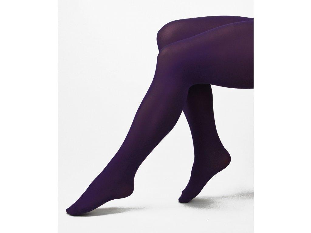 Punčochové kalhoty - 70 DEN - prune