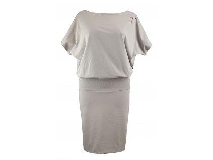 Šaty netopýří s pouzdrovou sukní