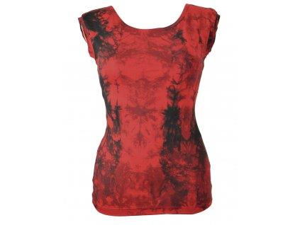Tílko... rudé batikované (Varianta 22167x1033540667)