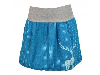 malovaná sukně